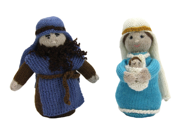 Alpaca Holy Family Nativity Set