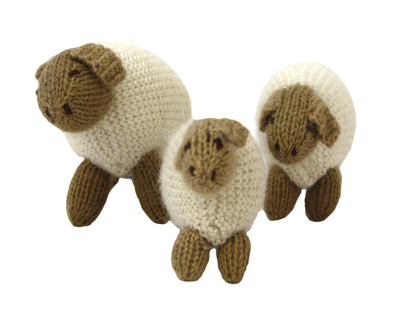 Alpaca Nativity Sheep Set of 3 - Peru