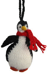 Alpaca Penguin Ornament - Peru