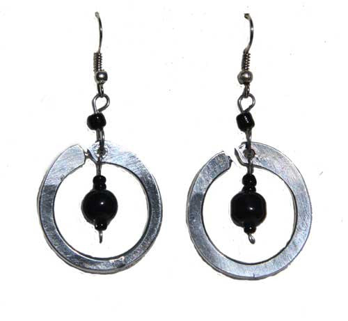 Aluminum Sway Earrings - Kenya