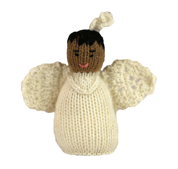 Alpaca Angel Boy Ornament - Ethnic - Peru
