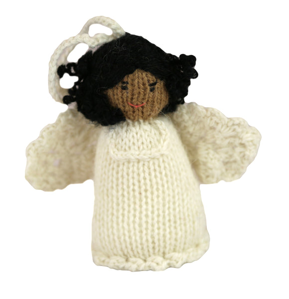 Alpaca Angel Girl Ornament - Ethnic - Peru