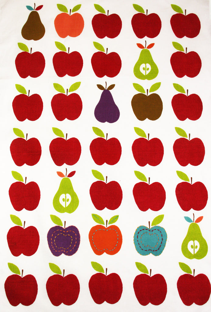 Apples and Pear Kitchen Towel - India