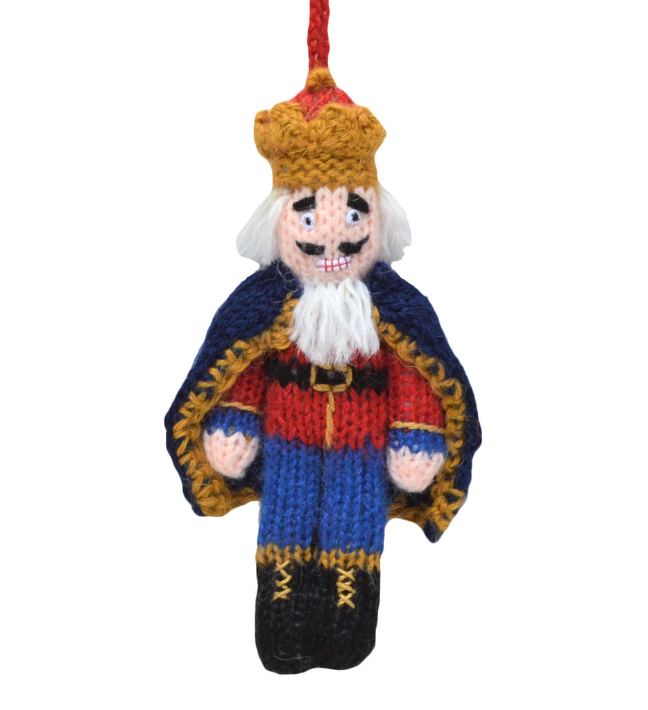 Nutcracker Ornament Blue Pants - Peru