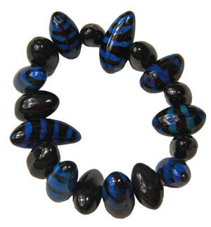 Tiger Bracelet Blue - Colombia