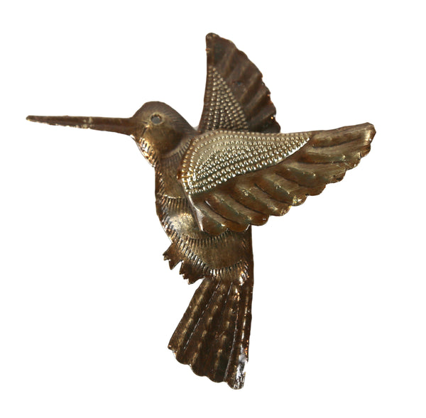Multi Dimensional Metal Hummingbird - Haiti