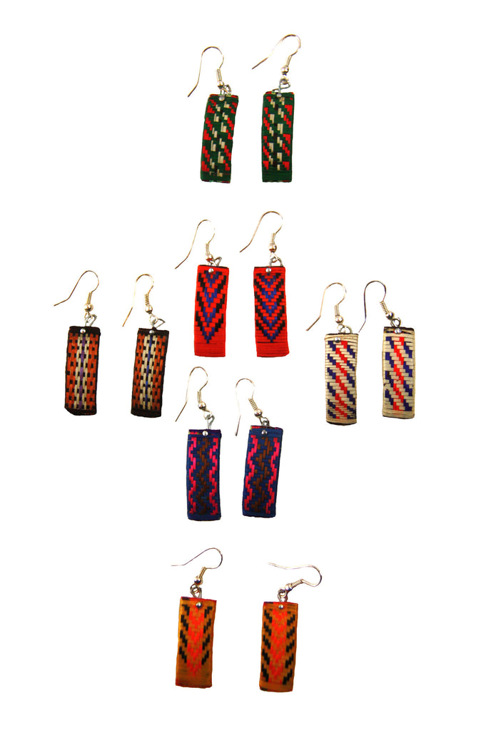 Cana Flecha Color Earrings - Colombia