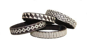 Cana Flecha Black And White Small Cuff - Colombia