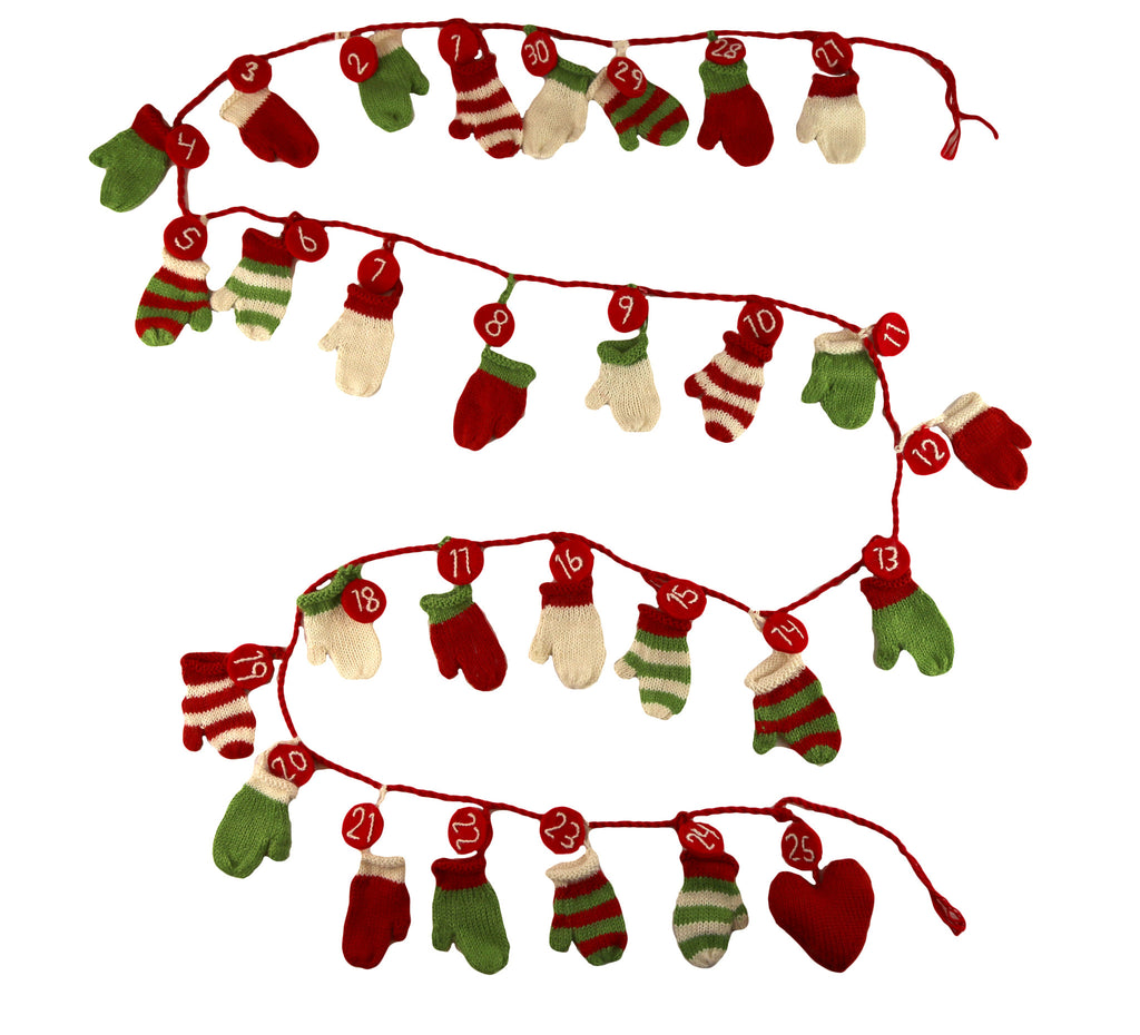Christmas Mittens Advent Calendar - Peru
