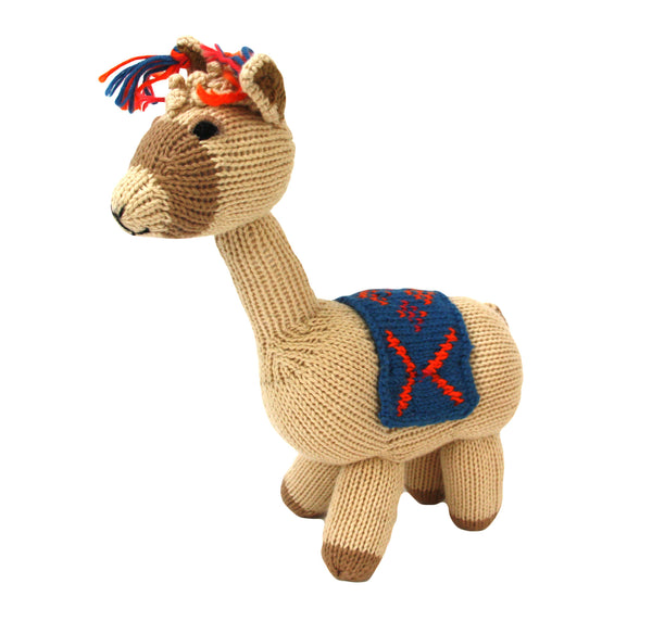 Cotton Llama Stuffed Animal - Peru