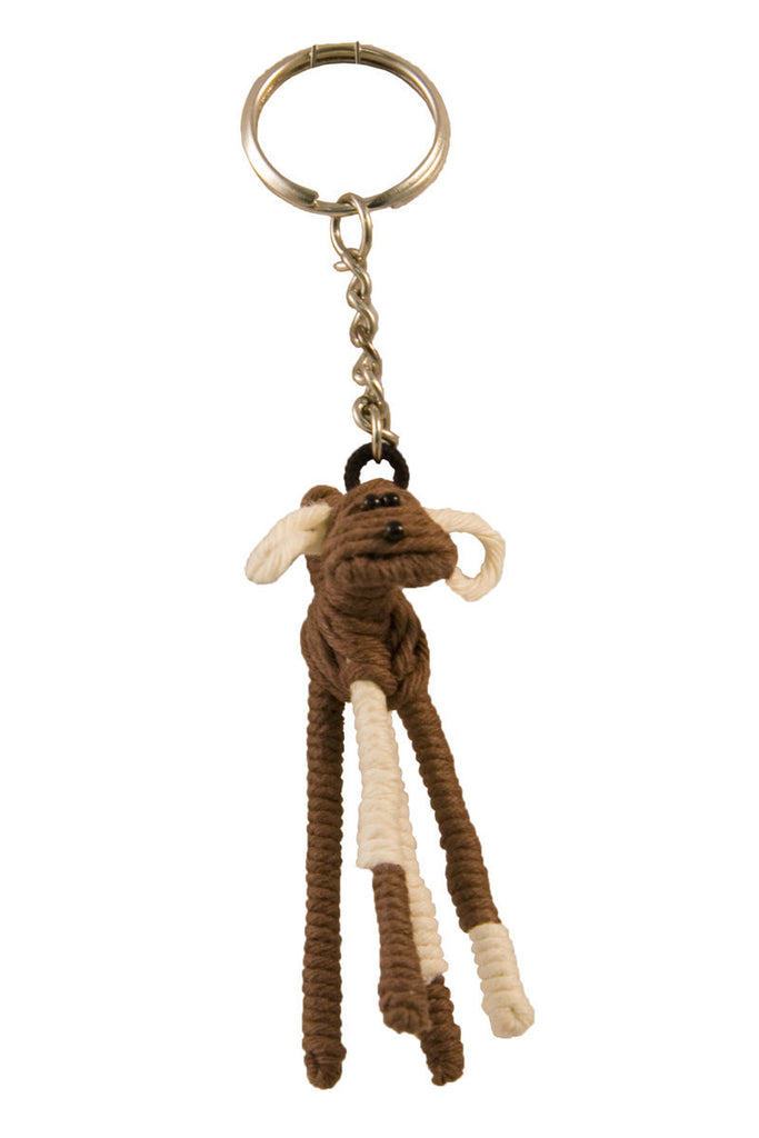 Yarn Dog Keychain, Colombia