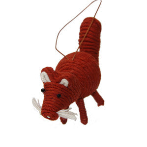 Yarn Fox Ornament - Colombia