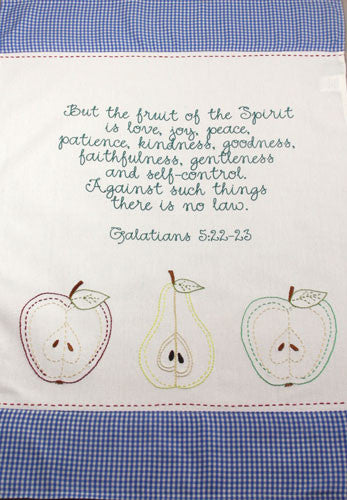 Fruit of the Spirit Kitchen Towel - India