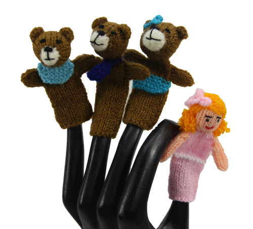 Goldilocks and the Three Bears Finger Puppets  - Peru