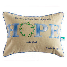 Hope Pillow Cover - India