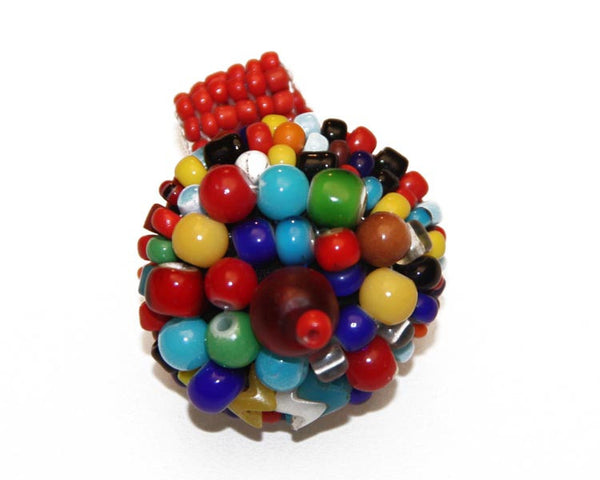 Large African Trade Bead Ring - South Africa