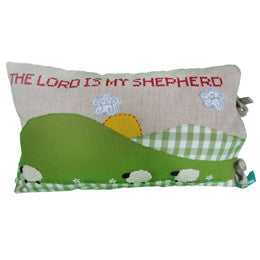 The Lord Is My Shepherd Pillow Cover - India