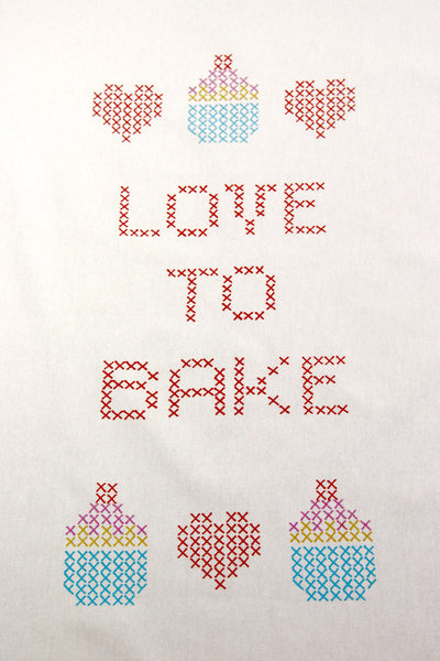 Love to Bake Kitchen Towel - India