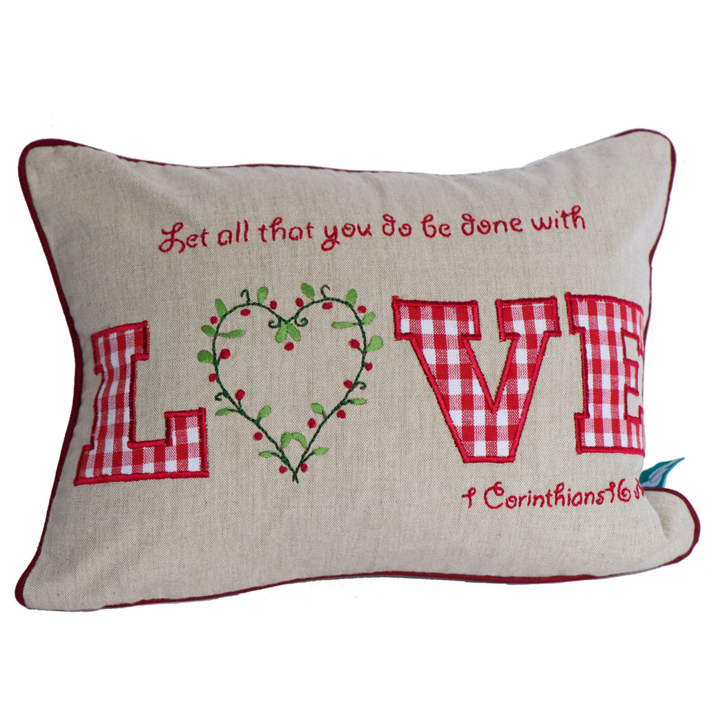 Love Pillow Case - India