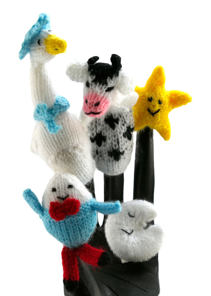 Mother Goose Nursery Rhyme Finger Puppets  - Peru