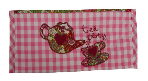 Tea Party Pencil Case - India