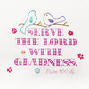 Serve The Lord With Gladness Kitchen Towel - India