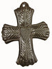 Small Wide Metal Wall Art Cross - Haiti