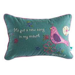 New Song Bird Pillow Cover - India