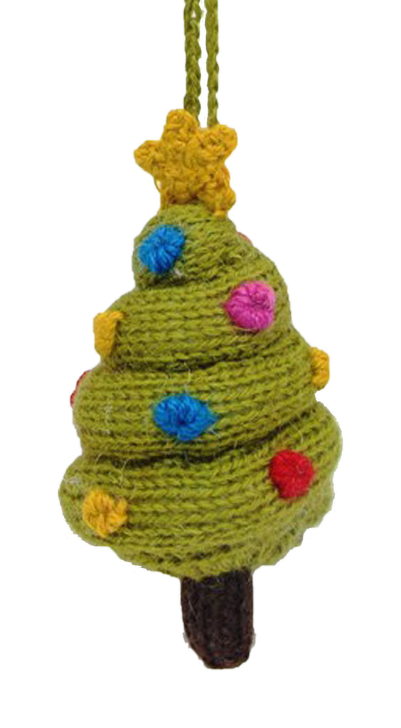 Alpaca Christmas Tree Ornament - Peru