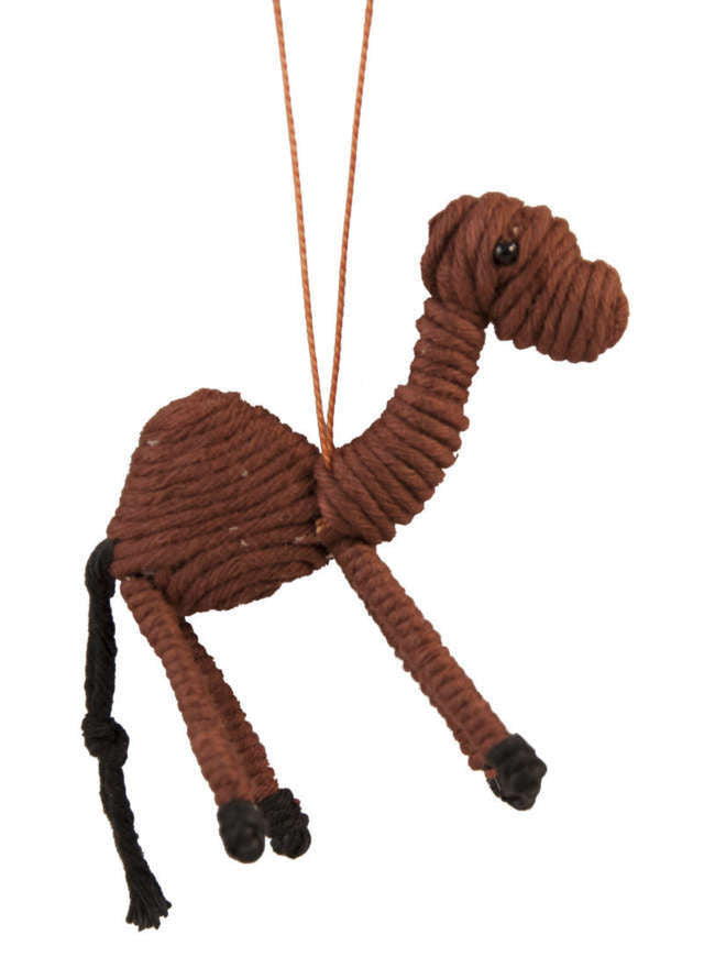 Yarn Camel Ornament - Colombia