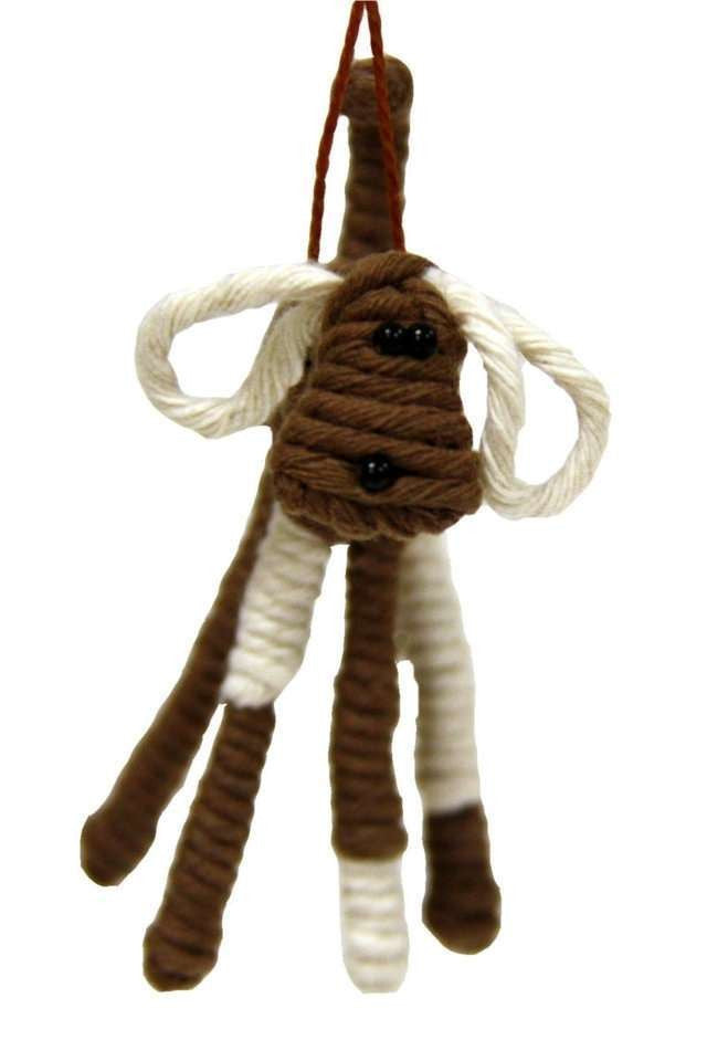 Yarn Dog Ornament, Colombia