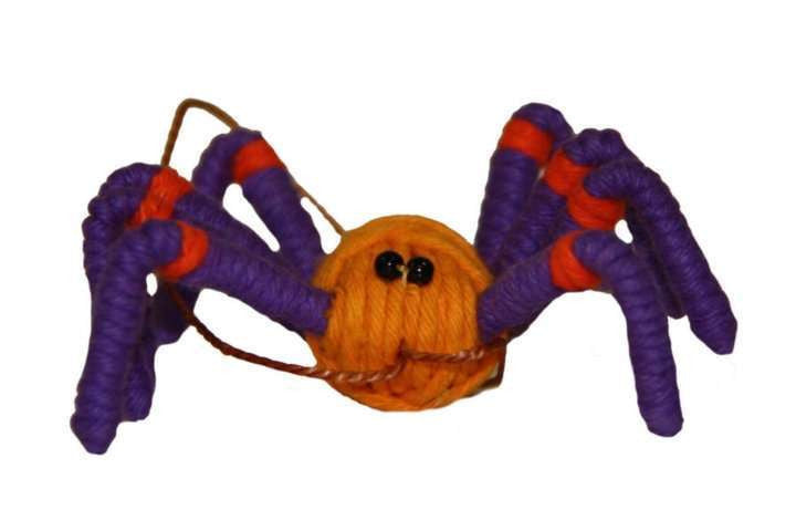 Yarn Spider Ornament - Colombia