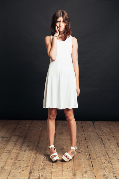 White Witch Mini Dress