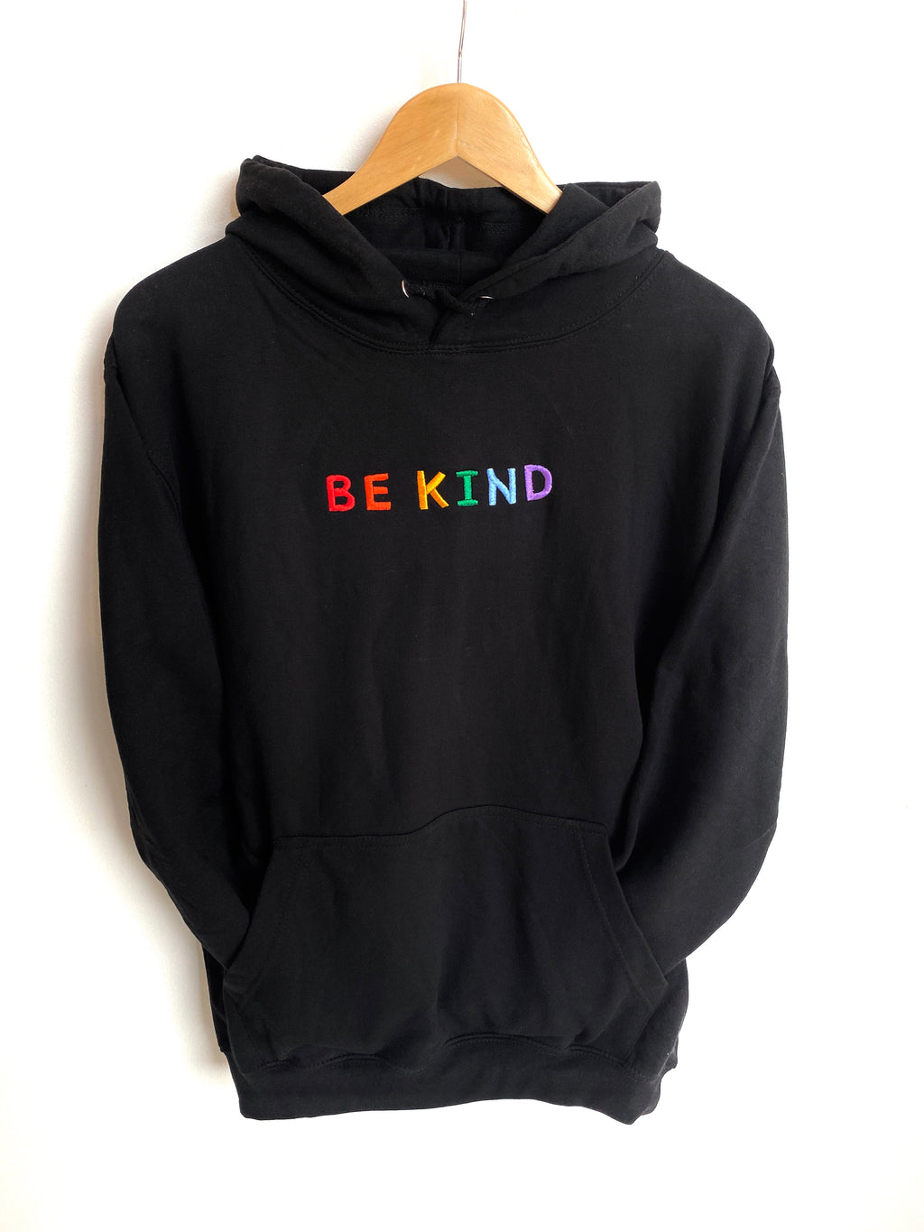 Be Kind Black Hoodie