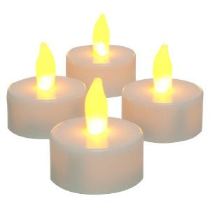 Flameless LED Tea-light Candles Light Battery Operated