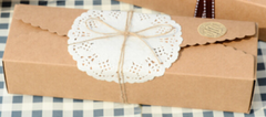 Kraft Brown Paper Packaging Favor Box