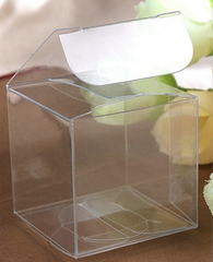 Transparent Clear PVC  Favor Box