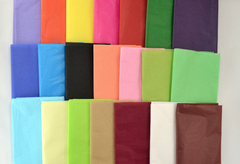 Multi Coloured Tissue Gift Wrap Paper