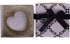 Mini Heart-Shaped Scented Soap in Nest