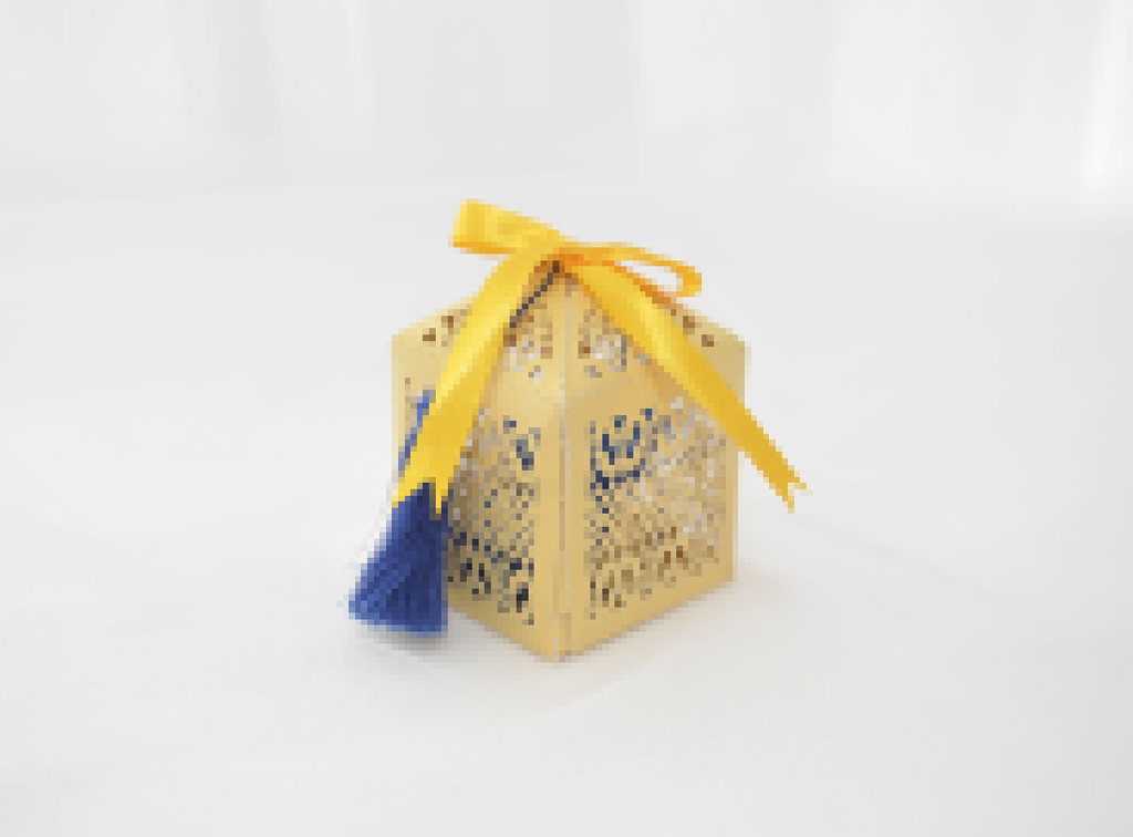 New Marriage Laser Cut Favor Box