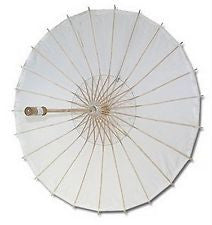 White Parasols Sun Umbrella Bridal Accessories Handmade