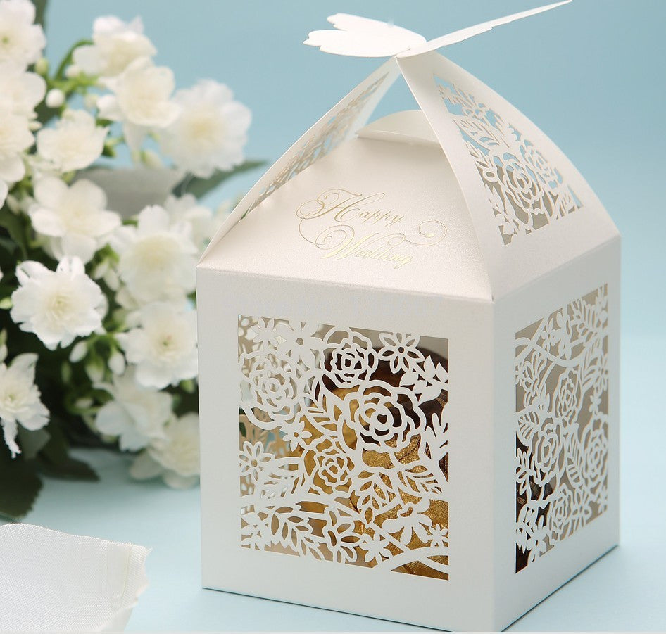 Butterfly Laser Cut Favor Candy Box