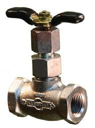 "IN-LINE HAND OPERATED VALVE 1/2"" NPT(F) (Needle for Grease) 3230-001"