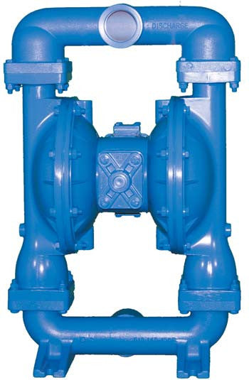 """Air Operated Double Diaphragm Pump Conventional 2"""" Aluminum 1120-030S"""