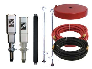 MOBILE GREASE Lion™ HP 50:1 PUMP PACKAGE (400 LB/55 GAL) 7120-014