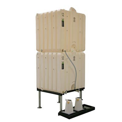 envirostax Twin 681 Litre Tanks Complete Gravity System ES-681-2