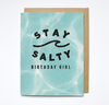STAY SALTY - Card