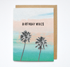 BIRTHDAY VIBES - Card