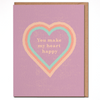 HEART HAPPY - Card