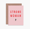 STRONG WOMAN - Card